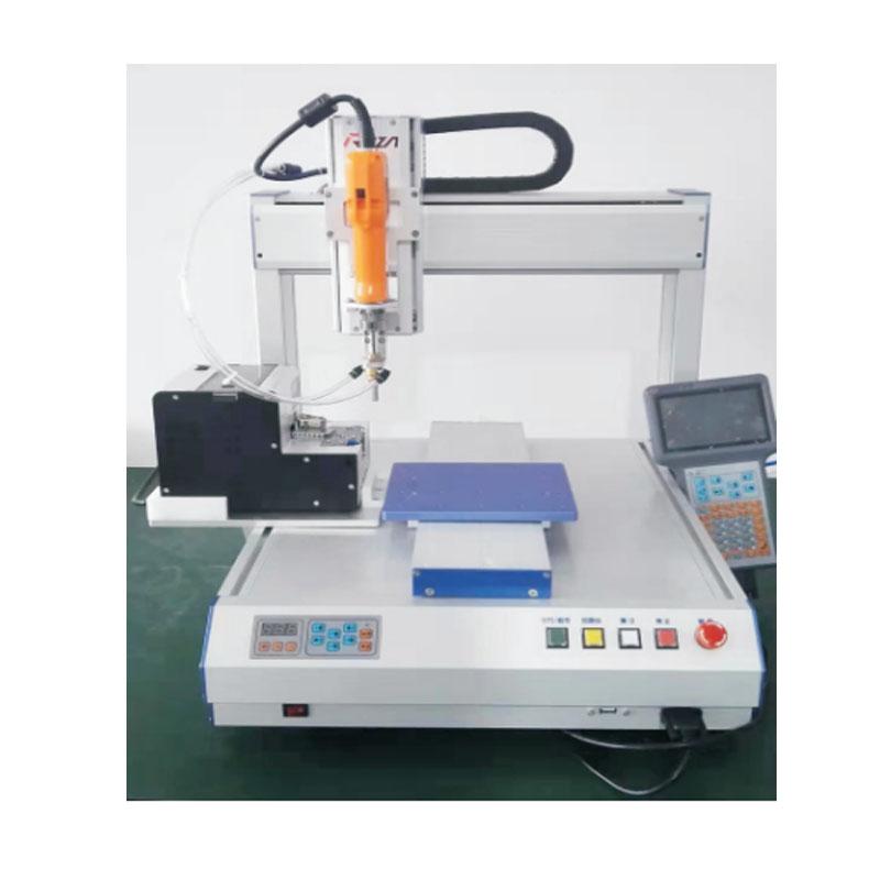 桌面式三轴锁螺丝机器人系统