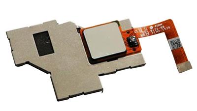 指纹识别模组喷胶固定保护盖板解决方案