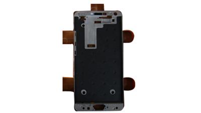 TP显示模组与手机中框喷胶解决方案